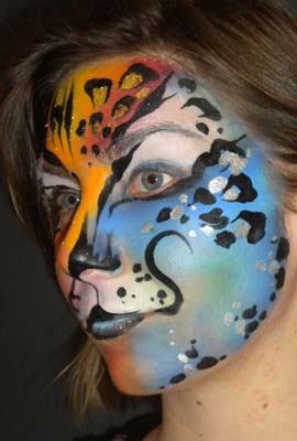 animal facepaint mask