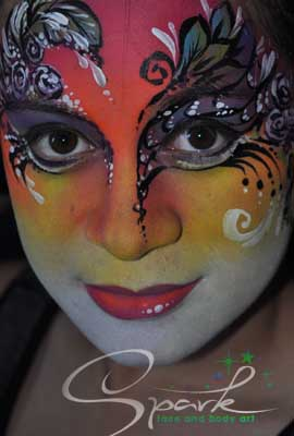 marsquerade facepaint